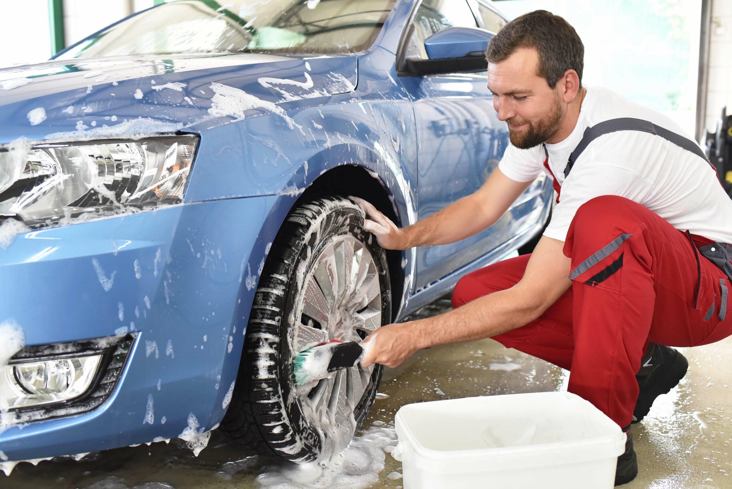 Auto waschen Garagistenangebot